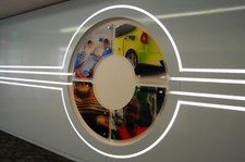 ACR048 - Custom Acrylic Display for Interior Design