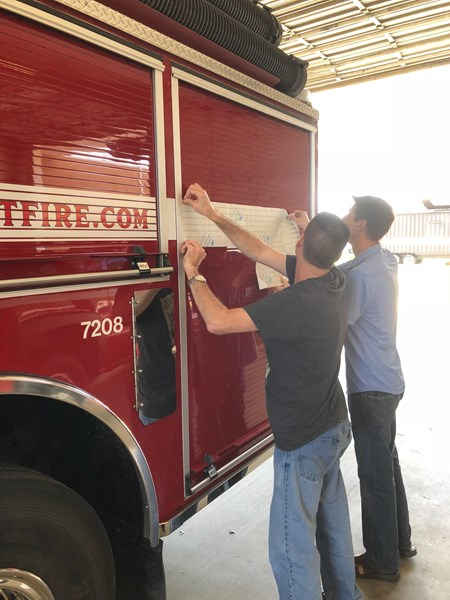 Fire & emergency vehicle graphics